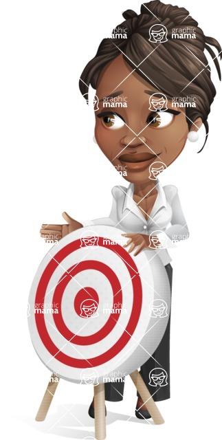 Chloe as Miss Profit - Target