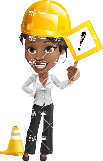 Chloe as Miss Profit - Under Construction1