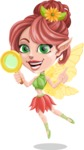 Cute Fairy Vector Cartoon Character AKA Frida the Flower Fairy - Search