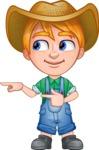 Little Farm Kid Cartoon Vector Character AKA Curtis the Farm's Menace - Point2