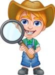 Little Farm Kid Cartoon Vector Character AKA Curtis the Farm's Menace - Search