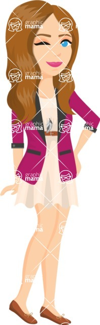 Fashion Girls Graphics Maker - Girl 15