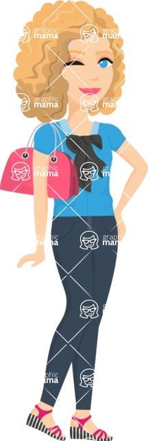 Fashion Girls Graphics Maker - Girl 16