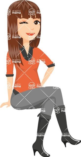Fashion Girls Graphics Maker - Girl 23