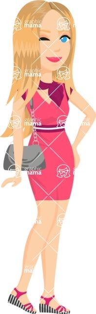 Fashion Girls Graphics Maker - Girl 34