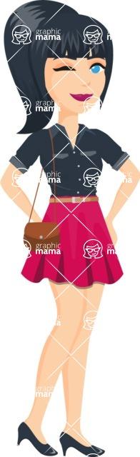 Fashion Girls Graphics Maker - Girl 38