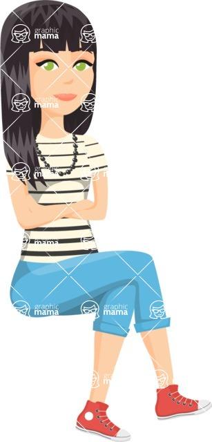 Fashion Girls Graphics Maker - Girl 57