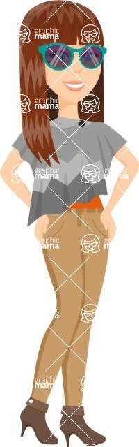 Fashion Girls Graphics Maker - Girl 62