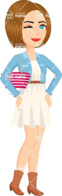 Fashion Icon - Girl 70