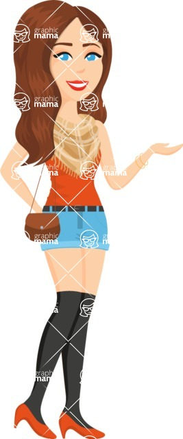 Fashion Girls Graphics Maker - Girl 75
