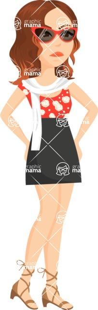 Fashion Girls Graphics Maker - Girl 98