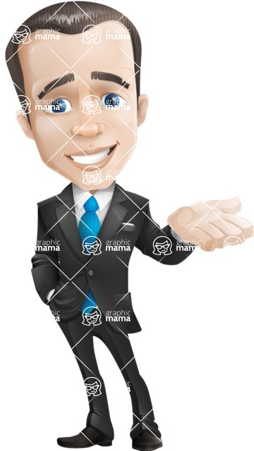 businessman vector cartoon character design modern look  - Sorry
