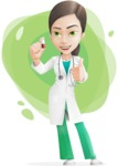 Julia the Medical Scientist - Shape 9
