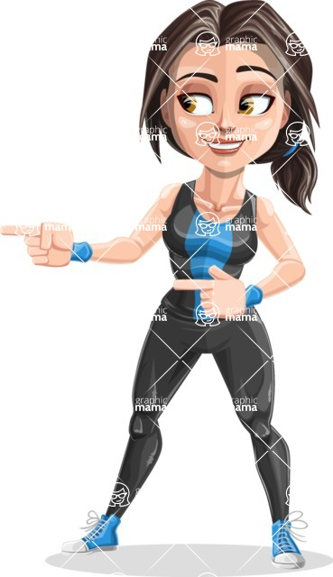 Marina the Ambitious Fitness Woman - Point 2