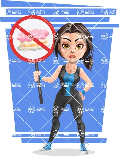 Marina the Ambitious Fitness Woman - Shape 9