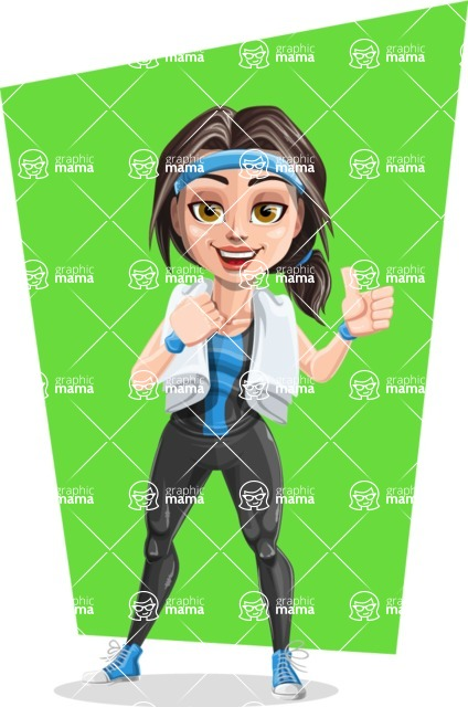 Marina the Ambitious Fitness Woman - Shape 10