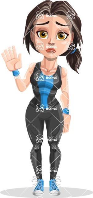 Marina the Ambitious Fitness Woman - Goodbye
