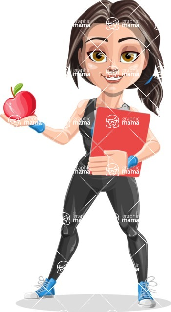 Marina the Ambitious Fitness Woman - Diet 2