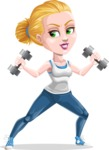 Ines the Fitness pro - Weights