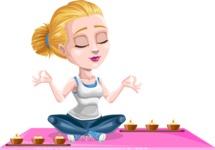 Ines the Fitness pro - Yoga 2