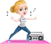 Ines the Fitness pro - Aerobics