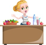 Ines the Fitness pro - Healthy food