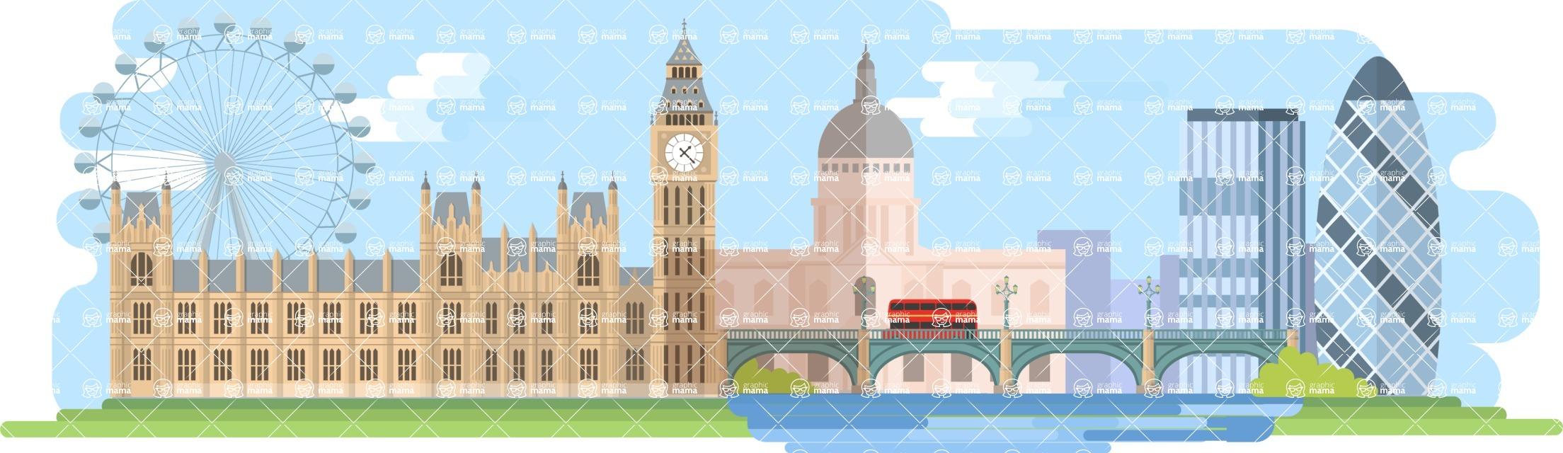 London Wide Landscape