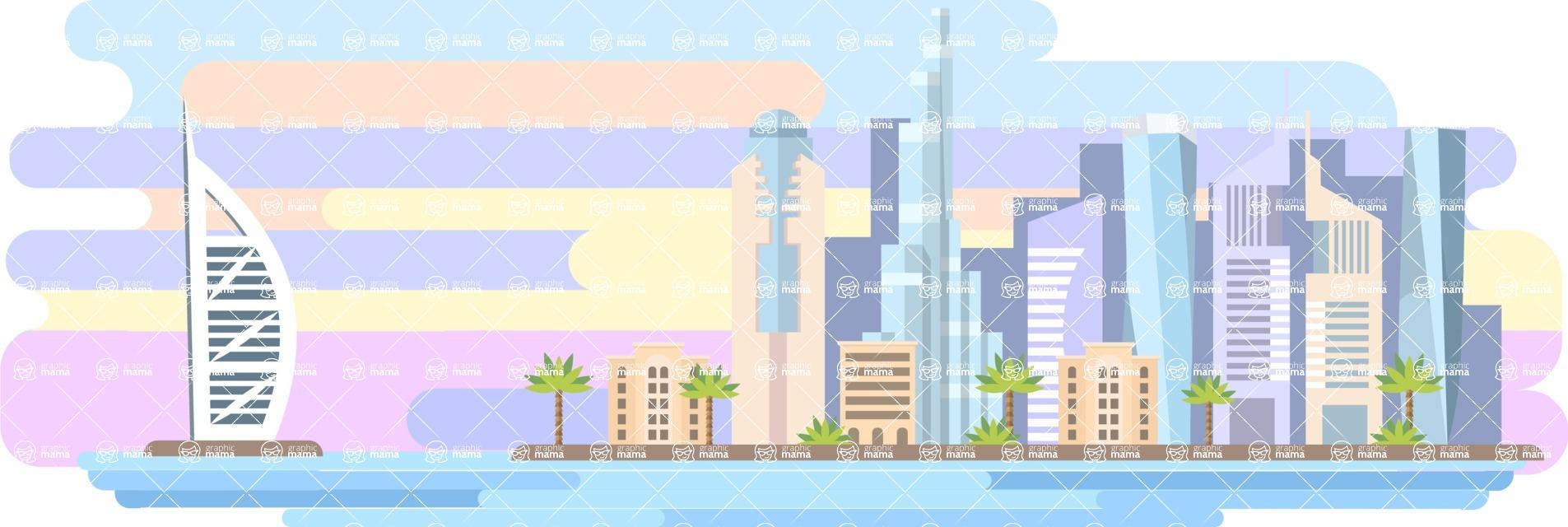 Dubai Wide Landscape