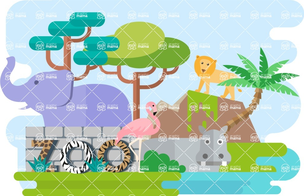 Zoo Narrow Landscape