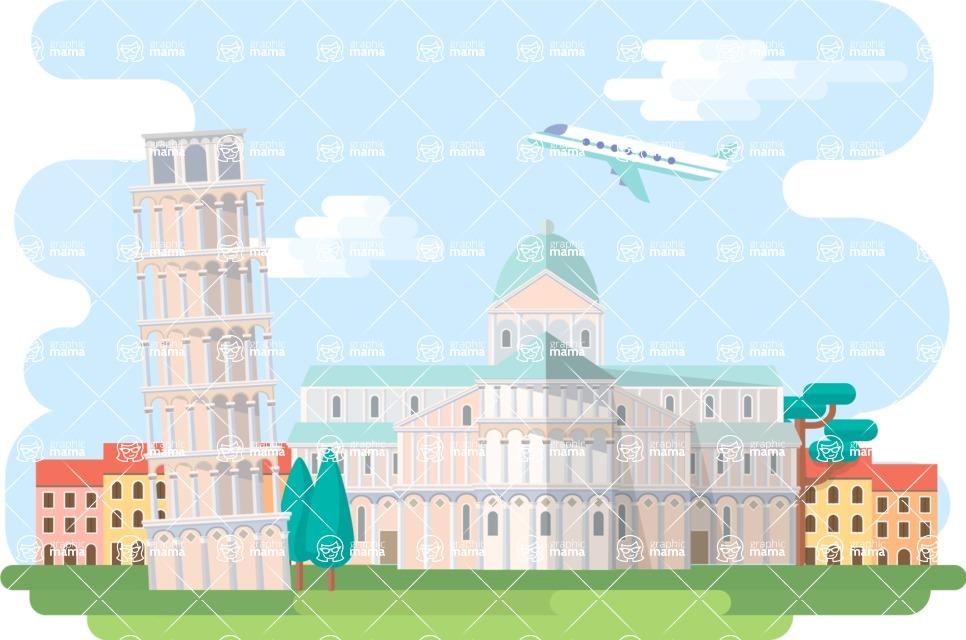 Pisa Narrow Landscape