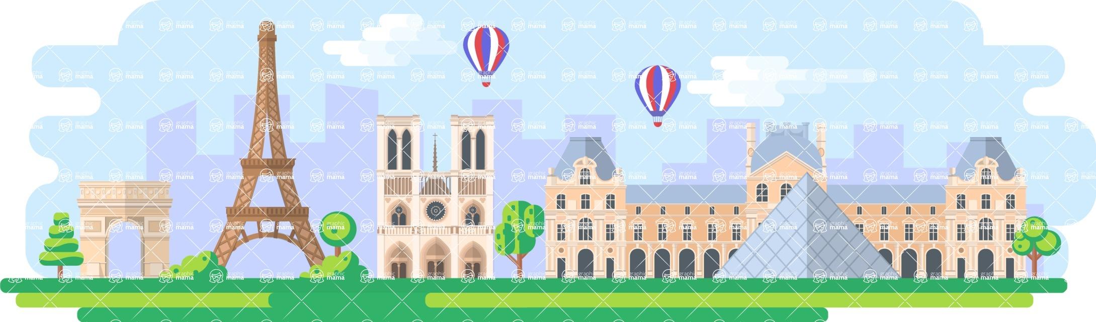 Paris Wide Landscape