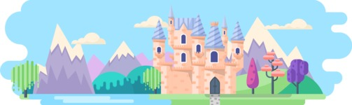 Fairy Tale Castle 2