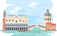 Venice Narrow Landscape