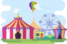 Circus Narrow Landscape