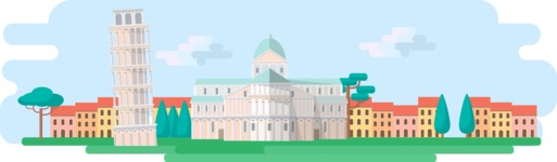 Pisa Wide Landscape