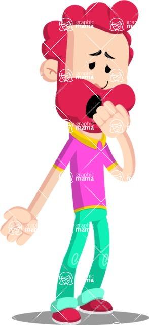 Flat Casual Male Cartoon Vector Character AKA Jasper Fresh - Oops
