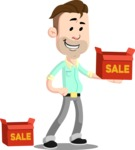 Jude the Salesman - Sale