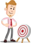 Office Guy Cartoon Vector Character AKA Owen - Target