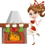 Christina Flirtatious - Fireplace