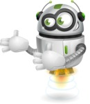robot vector cartoon character - robot vector cartoon character design welcome