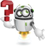 robot vector cartoon character - robot vector cartoon character design question