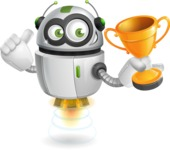 robot vector cartoon character - robot vector cartoon character design winner