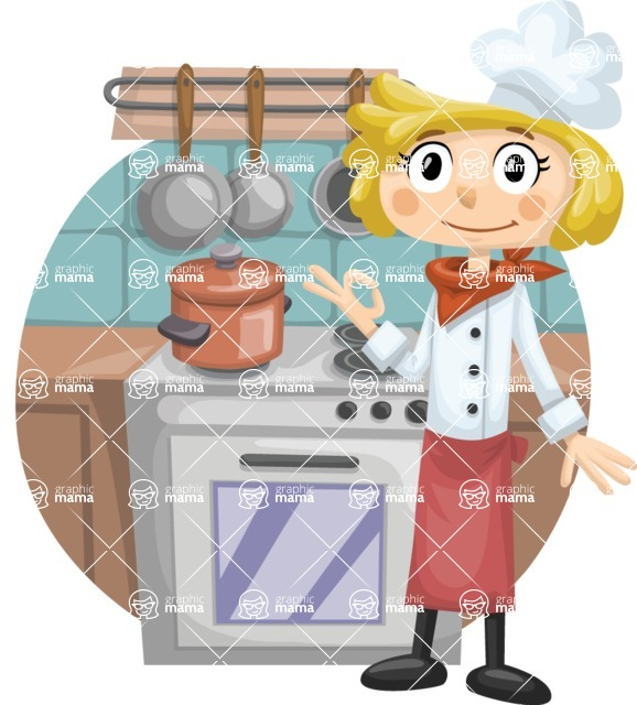 Cook Next to Oven