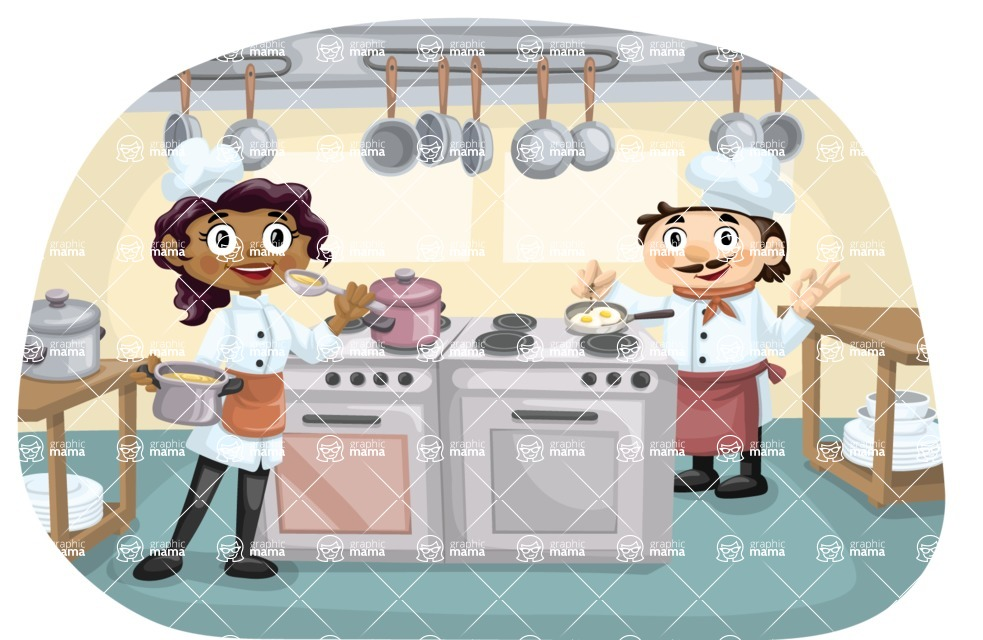 Chefs Cooking Meals