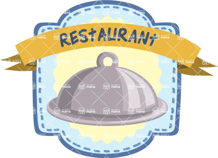 Dome Plate Sticker