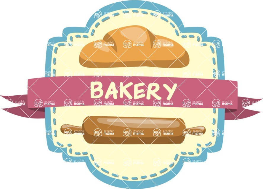 Bakery Sticker