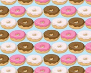 Food vector pack - menu, restaurant, meal, cook, chef, backgrounds, scenes, editable graphics, illustrations, png files for download available - Donuts Pattern 3