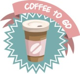 Coffee To Go Sticker