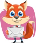 Fox Businessman Cartoon Vector character AKA Ben Tails - Shape 5