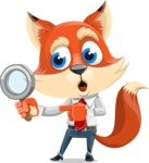 Fox Businessman Cartoon Vector character AKA Ben Tails - Search
